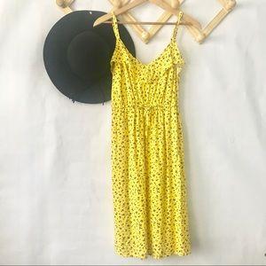 torrid | Yellow Floral Challis Sundress 0X